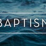 Il significato del battesimo