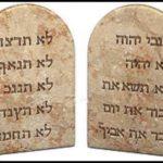 Scritte su pietra: le dieci parole di Dio